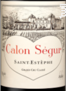 Château Calon Ségur - Château Calon Ségur - 2014 - Rouge