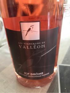 IGP Drôme Rosé - Les Vignerons de Valleon - 2019 - Rosé