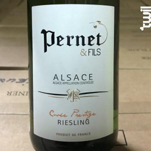 Riesling-Cuvée Prestige - Domaine Pernet - 2018 - Blanc