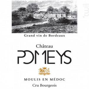 CHATEAU POMEYS - Vignobles Lalaudey et Pomeys - 2015 - Rouge
