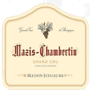 Mazis-Chambertin Grand Cru - Domaine Jessiaume - 2008 - Rouge