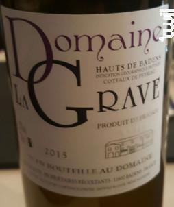 Domaine La Grave - Domaine La Grave - 1986 - Blanc