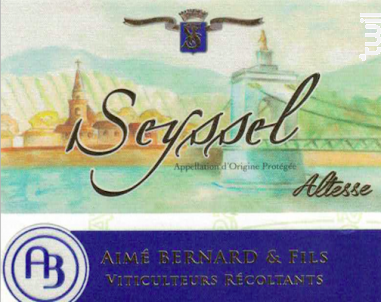 Seyssel - Aimé Bernard & Fils - 2016 - Blanc