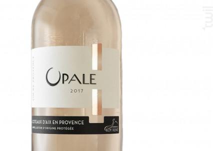 OPALE - Les Vignerons du Roy Rene SCA - 2017 - Rosé