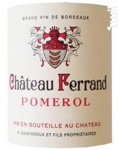 Château Ferrand - Château Ferrand - 2017 - Rouge