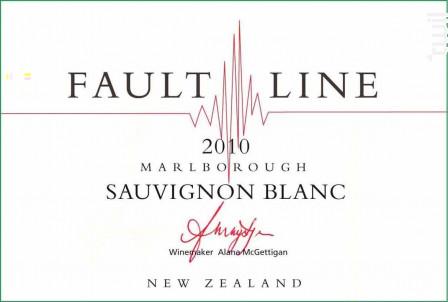 Sauvignon blanc - Fault Line - 2016 - Blanc