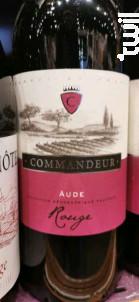 Commandeur Aude - Trilles - 2018 - Rouge