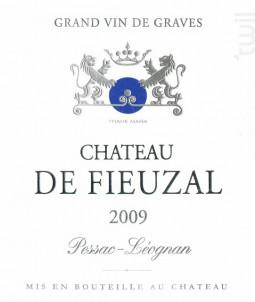 Château de Fieuzal - Château de Fieuzal - 1999 - Blanc