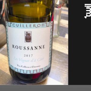 Roussanne - Les Vignes d'à côté - Cave Yves Cuilleron - 2018 - Blanc