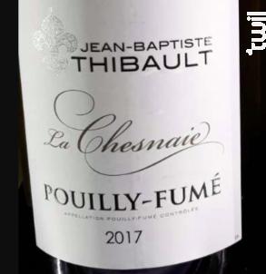 La Chesnaie - Domaine Jean-Baptiste Thibault - 2017 - Blanc