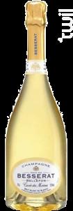 Cuvée des Moines Brut Blanc de Blancs - Champagne Besserat de Bellefon - Non millésimé - Effervescent