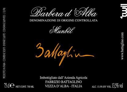 Munbél - Fabrizio Battaglino - 2013 - Rouge