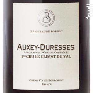 Auxey-Duresses Premier Cru Climat du Val - Jean-Claude Boisset - 2016 - Rouge