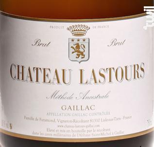 Château Lastours - Méthodes Ancestrale Brut - Château Lastours - Non millésimé - Effervescent