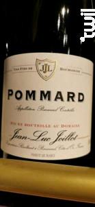 Pommard - Domaine Jean Luc Joillot - 2018 - Rouge