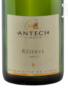 Cuvée Réserve Brut - MAISON ANTECH LIMOUX - 2016 - Effervescent
