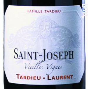 SAINT JOSEPH Les Roches Vieilles Vignes - Maison Tardieu-Laurent - 2017 - Rouge