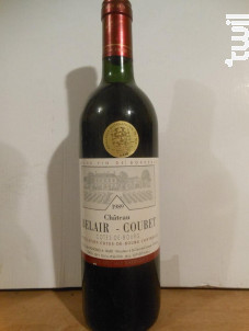 Château Belair-coubet - Château Belair Coubet - 1997 - Rouge