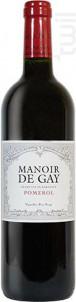 Manoir De Gay - Château Le Gay - 2018 - Rouge