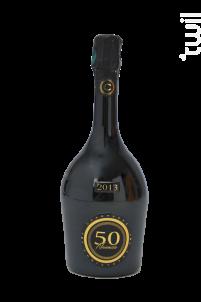 50 Nuances -  Extra-Brut - Champagne Christophe - 2013 - Effervescent