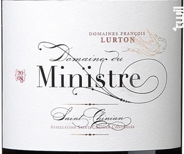Domaine du Ministre - François Lurton - Domaine du Ministre - 2016 - Rouge