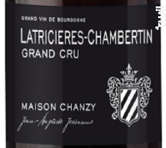 Latricières-Chambertin Grand Cru - Maison Chanzy - 2014 - Rouge