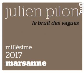 Le bruit des vagues - Domaine Julien Pilon - 2017 - Blanc