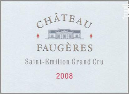 Château Faugères - Château Faugères - 2017 - Rouge