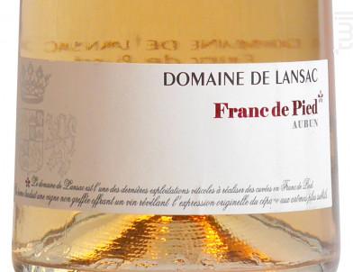 Franc de Pied - Domaine de Lansac - 2017 - Rosé