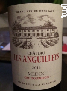 Château les Anguilleys - Château les Anguilleys - 2015 - Rouge