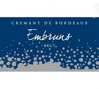 Embruns de l'Estuaire - Château La Botte - Non millésimé - Effervescent
