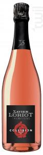 Collision Rosé - Champagne Xavier Loriot - Non millésimé - Effervescent