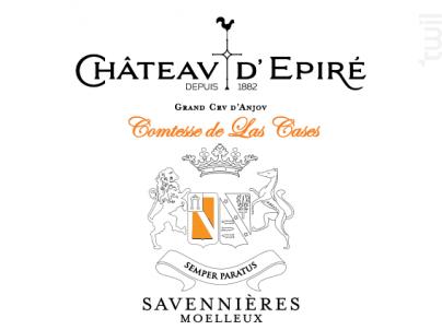 Comtesse de Las Cases - Château d'Epiré - 2018 - Blanc