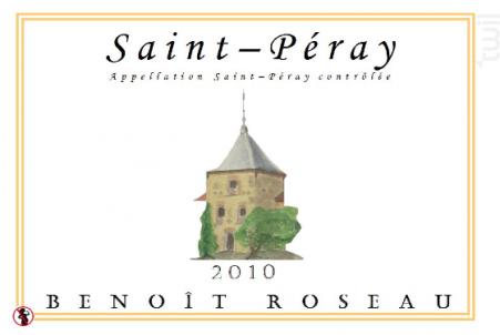 Saint-Péray - Benoît Roseau - Clos du pigeonnier - 2018 - Blanc