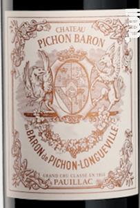 Château Pichon Baron - Château Pichon Baron - 2018 - Rouge