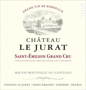 Château Le Jurat - Château Le Jurat - 2007 - Rouge