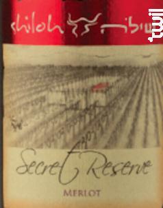 Secret Reserve Merlot - Shiloh - 2016 - Rouge