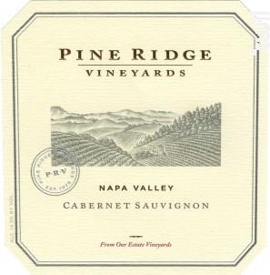 Cabernet sauvignon - PINE RIDGE - 2015 - Rouge