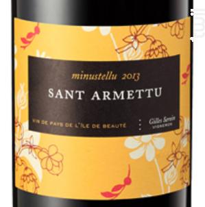 Minustellu - Domaine Sant Armettu - 2015 - Rouge