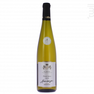 Pinot gris Médaille d'Argent paris concours 2019 - Cave de Beblenheim - 2018 - Blanc