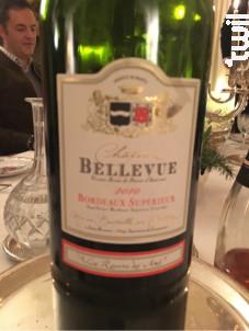 Château bellevue - Château Bellevue - 2010 - Rouge