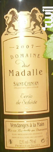 Ecrin de Schiste - Domaine des Madalle - 2016 - Rouge