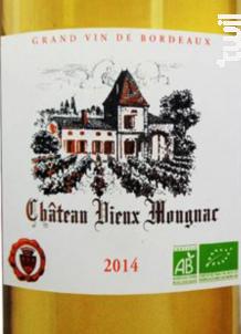 Château Vieux Mougnac Moelleux - Château Vieux Mougnac - 2015 - Blanc