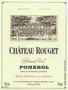 Château Rouget - Château Rouget - 2013 - Rouge