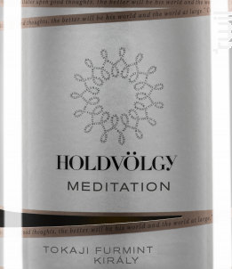 Meditation - furmint - HOLDVÖLGY - 2017 - Blanc