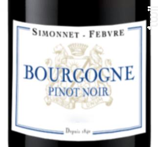 Bourgogne Pinot Noir - Simonnet Febvre - 2016 - Rouge