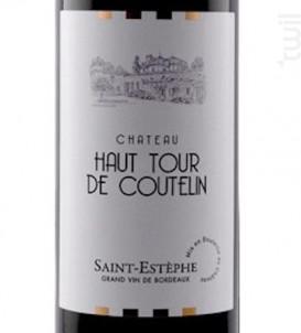 Château Haut Tour De Coutelin - Château Haut Tour de Coutelin - 2014 - Rouge