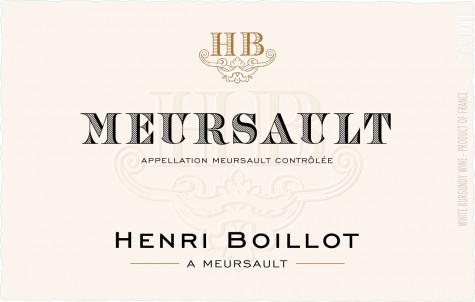 Meursault - Maison Henri Boillot - 2016 - Blanc
