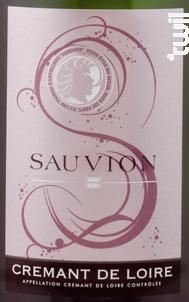 Crémant de Loire Blanc - SAUVION - CHATEAU DU CLERAY - Non millésimé - Effervescent