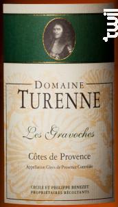 Cuvée Les Gravoches - Domaine Turenne - 2017 - Rosé